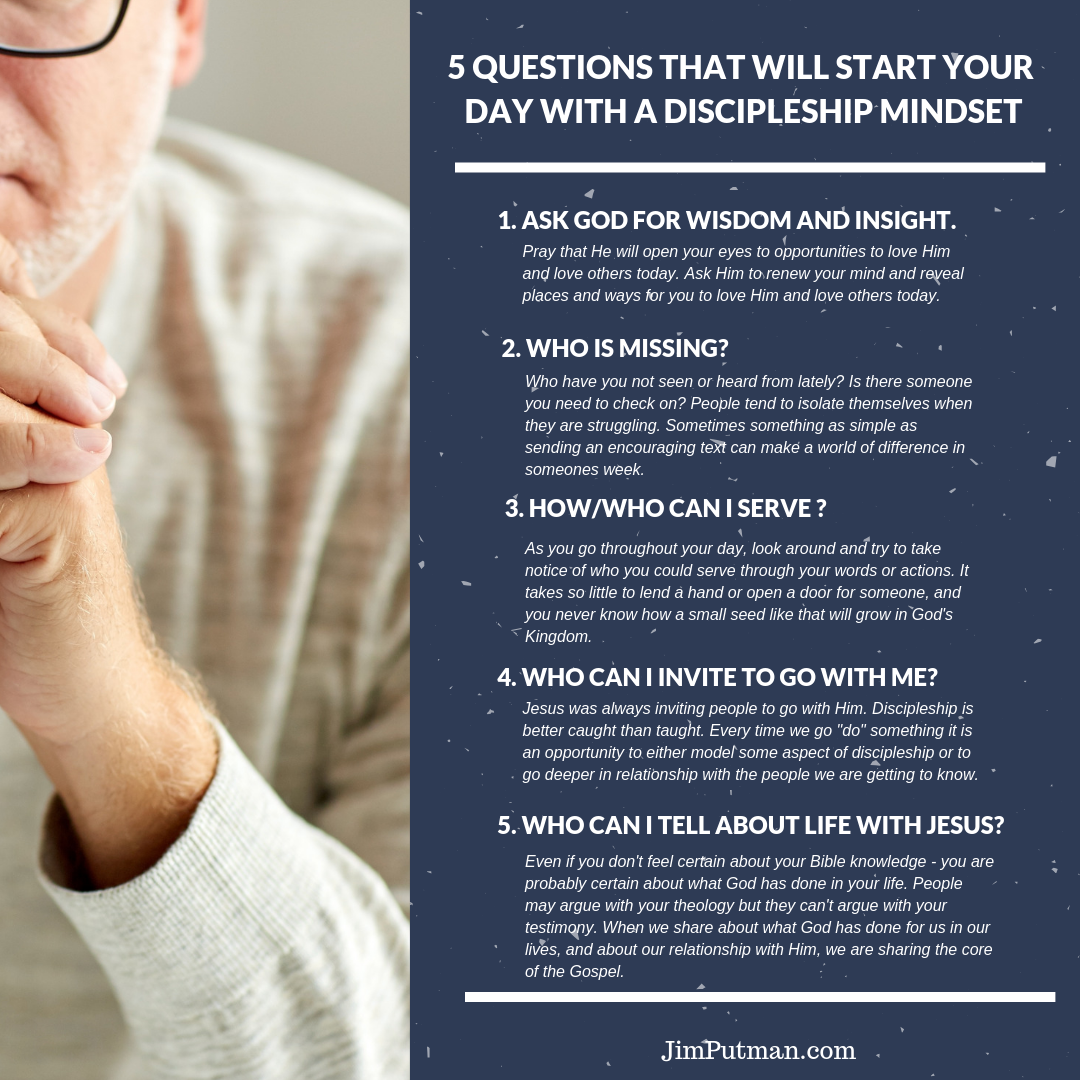 5 Questions That Will Start Your Day With A Discipleship